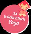 2x Wöchentlich Yoga